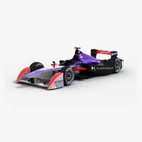 3d model ds virgin racing formulae