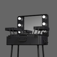 makeup table 3d obj