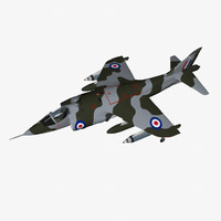 3ds max hawker siddeley harrier gr1