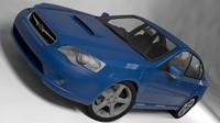 subaru legacy 2003 3d 3ds