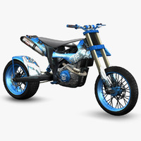 3d ready hill climbing bike