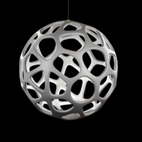 3d model lamp light kairos suspension