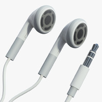 3d model headphones ipods