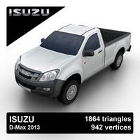 isuzu d-max 2013 pickup truck