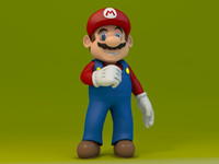 Super Mario Video Game Character