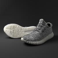 adidas yeezy 350 3d obj