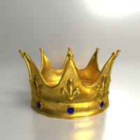 3ds max king crown