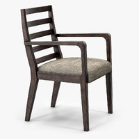 morgan boston dining chair 3d max