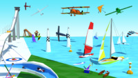 air water ice sport 3d 3ds