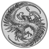 phoenix relief 3d model