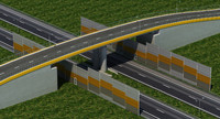 highway ramp junction 3ds