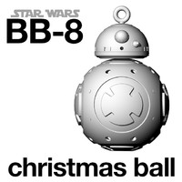 3d star wars ball printing model