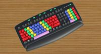 3dsmax keyboard key board