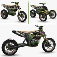 Apocalyptic Dirt Bike - Pack