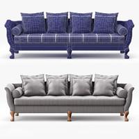3d model blasco sofa victoria