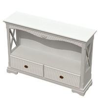 console cavio table 3d ige
