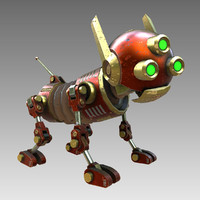 Dog Steampunk