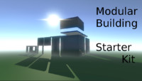 mobile sections modular building 3d model