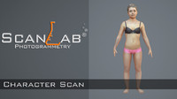 3ds max source zbrush scan human