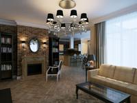max classical interior apartment