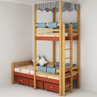 3d bunk