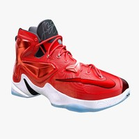obj lebron 13 basketball shoe