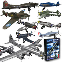 American Aircraft of World War II