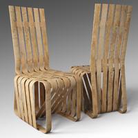3dsmax sticking chair
