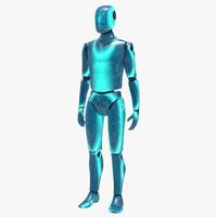 futuristic humanoid robot max