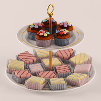 3d max cakes realistic