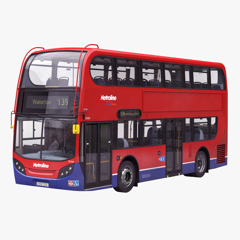 London Bus Enviro400 Simple Interior 3d model 01.jpg