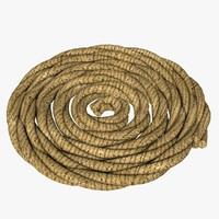 3d model rope