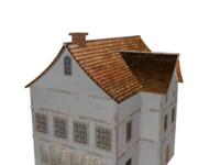3d historic house model