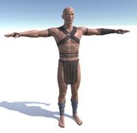 3d man human fantasy