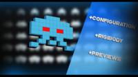 game spaceinvader 3d model