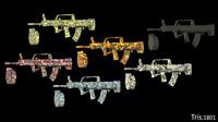assault rifles fbx