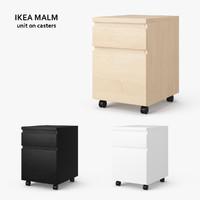 ikea malm drawer unit max