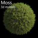 moss 3D models