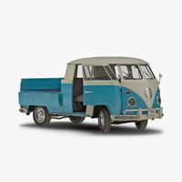 volkswagen type 2 double 3d max