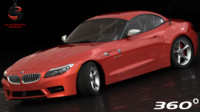 bmw z4 sdrive35is 2011 3d model