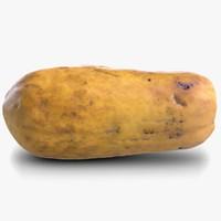 3d model of papaya 2