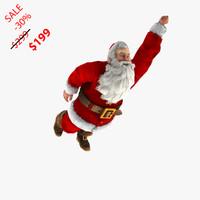 3dsmax rigged santa