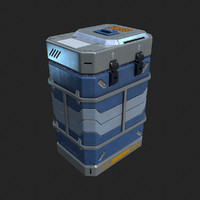 Crate sci-fi container