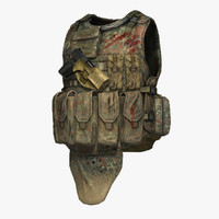 eagle industries tactical vest 3d model