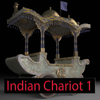 indian chariot 1 obj