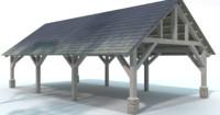 3d park pavilion