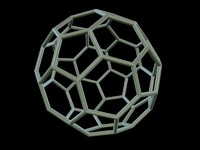 3d model 0006 8-grid truncated icosahedron