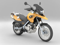 3d model of bmw f650gs
