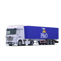 3d model mercedes actros mp4 container