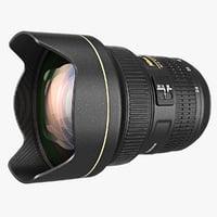 3dsmax lens 14-24mm f2 8g